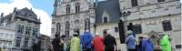 Cyclists learning about the city of Mechelen |  <i>Richard Tulloch</i>