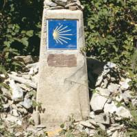 Marker on the Compostela Trail / Way of St James | Gabriella Dean