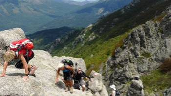 Scrambling on the GR20 | Gesine Cheung