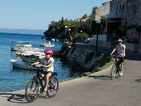 Cycling quiet coastal roads on the islands off the Dalmation Coast with kids |  <i>Ross Baker</i>