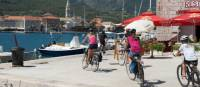Children cycling into the town of Jelsa on the island of Hvar |  <i>Ross Baker</i>