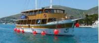 Comfortable boats are a perfect base for our Croatia Bike & sail trip
