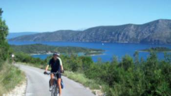 Electric bikes will make the hills in Croatia's Southern Dalmatian islands alot easier