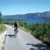 Electric bikes will make the hills in Croatia's Southern Dalmatian islands alot easier
