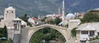 Stunning bridge in Mostar, Bosnia & Herzegovnia