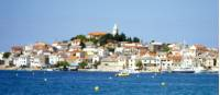 The town of Primosten as visited on our National Parks of Dalmatia trip