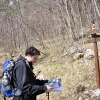 Self guided hiker in Istria, Croatia