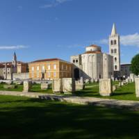 The interesting town of Zadar with its important place in Croatian history