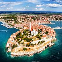 The beautiful town of Pula on the Istrian Peninsula, Croatia