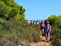 Hiking in Brijuni National Park, Istria