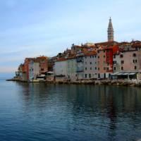 The coastal town of Rovinj in Istria