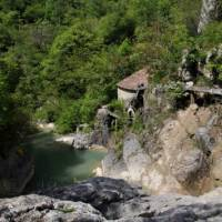 Water mills discovered on foot in the canyon of Velika Paklenica