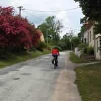 Cycling through small villages in the Czech Republic   John Dennett