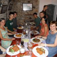 Enjoy hearty traditional food with your small group on the Prague to Dresden Cycle
