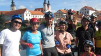 Group shot in Telc | Rob McFarland