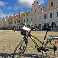Cycling is a fantastic way to explore Telc in the Czech Republic | Els van Veelen