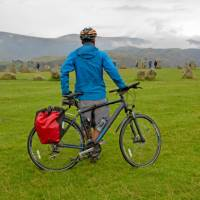 Castlerigg cyclist taking it all in | Andrew Bain