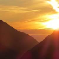 Sunset over Mt Snowdon, Wales   Melanie Moss