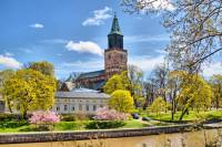 The Turku Cathedral by the Aurajoki river |  <i>Timo Oksanen</i>