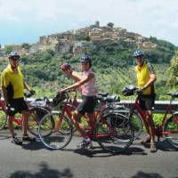 Resting on the ride from Florence to Rome