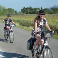 Family bonding at its best on the Provence Backroads self-guided cycling tour!   Philippa Shelley Jones