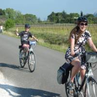 Family bonding at its best on the Provence Backroads self-guided cycling tour! | Philippa Shelley Jones