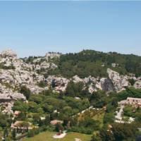 The Alpille Mountains near Les Baux, Provence   Rachel Imber