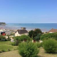 Arromanches and the Mulberry Harbour   Kate Baker