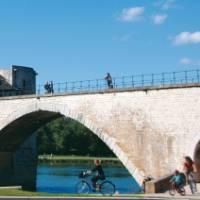 Saint Benezet bridge over the Rhone River in Avignon, France | Rachel Imber