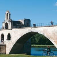 Saint Benezet bridge over the Rhone River in Avignon, France   Rachel Imber