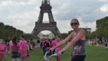 Paris and the eiffel tower by bike, France | Rochelle Costello