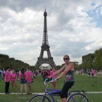 Paris and the eiffel tower by bike, France   Rochelle Costello