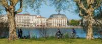 Cycling along the Garonne on our Bordeaux Bike & Barge in France