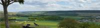 View over the Marne Valley, Champagne region