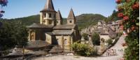 Visit the village of Conques on the Way of St James