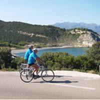 Cycling on the French island of Corsica
