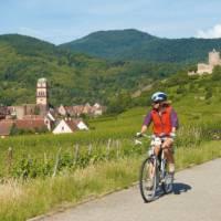Cycling in Alsace, France   Ewen Bell