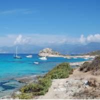 Coastal scenes in Corsica