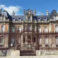 Champagne houses in Epernay