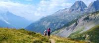 Coming up to Col de Balme on the Tour de Mont Blanc | Bren Dorman