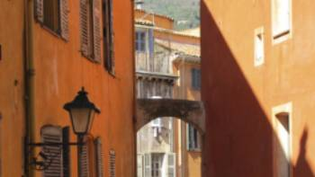 Street scene in the perfume town of Grasse in the hills above Canne | Kate Baker
