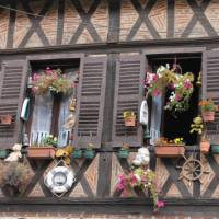 Traditional architecture in Burgundy   Jaclyn Lofts