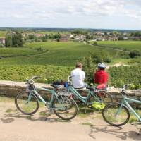 Taking a rest from the cycling in Burgundy   Jaclyn Lofts