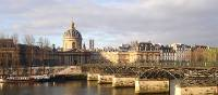 Morning light on the Louvre from the Seine | Kate Baker