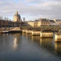 Morning light on the Louvre from the Seine   Kate Baker