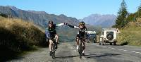 Cycling the Pyrenees offers a sense of achievement after crossing a high pass