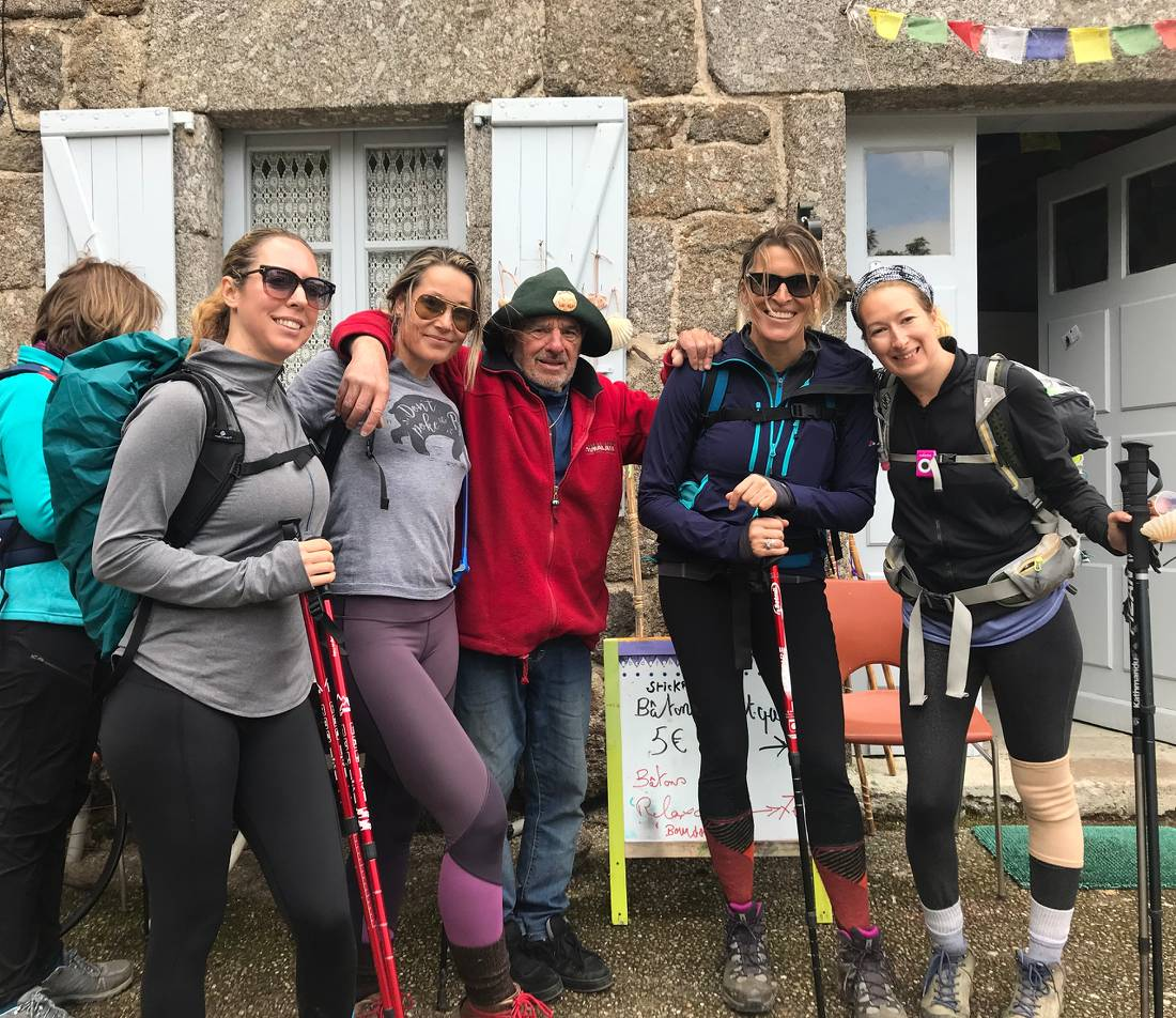 Ready to hit the Camino trail! |  <i>Allie Peden</i>