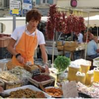 Market day in Saint Remy, Provence   Philip Wyndham