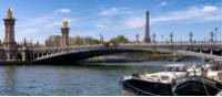 A beautiful view of La Seine in Paris