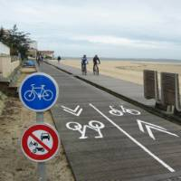 Self guided cycle way from Bordeaux to Biarritz